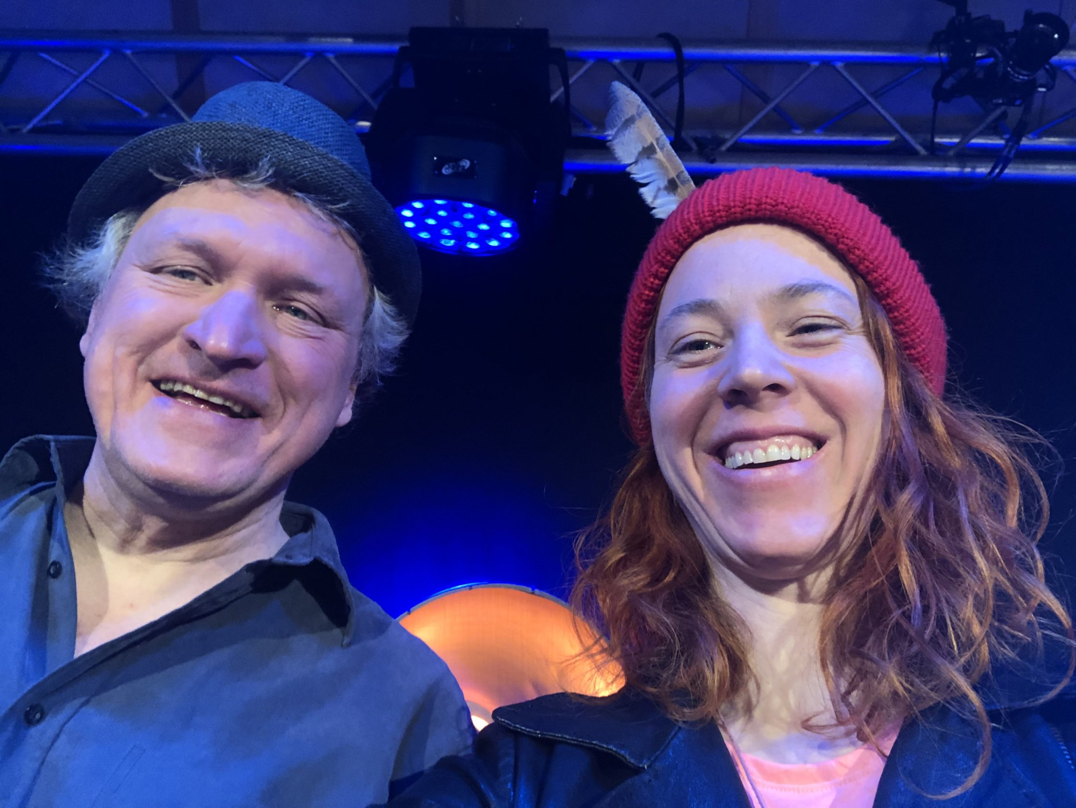 Michael Zachcial und Johanna Zeul